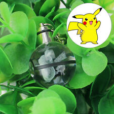 Llavero Keyring Crystal Ball Pokemon Pokeball Pikachu 3D LED Nocturna Luz Regalo