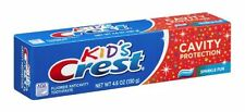 Crest Kids Cavity Protection Tube Toothpaste Sparkle Fun 4.6 oz: 24 Pack