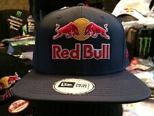 Red Bull Monster Energy Dirt Shark New Era Athlete SnapBack Hat