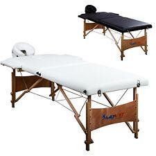 MOVIT Mobile Lit de massage inclus Accessoires et housse Table blanc