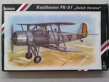 "Special Hobby 72048 Koolhoven FK-51 ""Dutch Version"" 1:72 Neu & eingetütet"