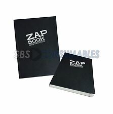 Clairefontaine Zap Book A6 Sketch Book 100% Recycled 160 Sheets Black Cover 3363
