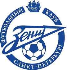 """Zenit FC Saint Petersburg Russia Soccer Football Bumper Sticker Decal 5"""" x 5"""""""
