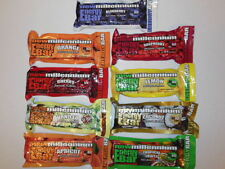 Lot of 20  NEW MILLENNIUM  ENERGY BARS / FOOD RATIONS 400 CALORIES 9 flavors.