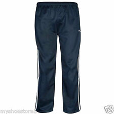 BOYS TRACKSUIT BOTTOMS SILKY JOGGERS JOGGING STRIPED SPORTS SWEAT PANTS TROUSERS