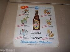 alte HACKER Nährbier Reklame HACKERBRÄU München Hat Weltruf Bier 1417