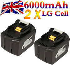 2 X MAKITA 18V 6000mAh 6.0Ah LITHIUM ION BATTERY BL1860 1845 REPLACE BATTERIES