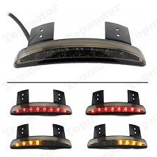 SMOKE Fender Edge LED Tail Light Turn Signal For 04-13 Harley Sportster 1200 883