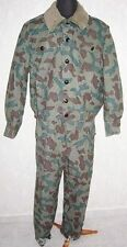 Old Communist BULGARIAN CAMOUFLAGE uniform 1960s jacket + pants, NU