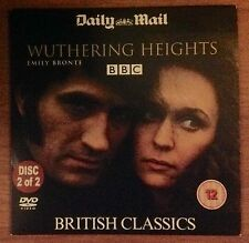 DVD - BRITISH CLASSIC - WUTHERING HEIGHTS - DISC 2 - NEWSPAPER PROMOTION