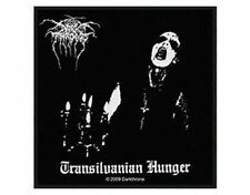 DARK THRONE transilvanian hunger 2009  - WOVEN SEW ON PATCH - free shipping
