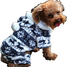 Petparty Casual Soft Dog Jumpsuit for Dog Coat Dog Hoodie Cozy Fashion Pet Coat