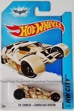 HOT WHEELS BATMAN THE TUMBLER CAMOUFLAGE VERSION new