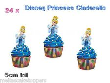 24 x Disney Princess Cinderella Half Body Cake&Cupcake Toppers Edible Wafer Card