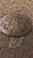 BOY SCOUT OLD COLONY COUNCIL 2010 BRONZE BELT BUCKLE NEW NICE !