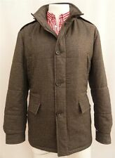 PRADA Men's Padded Warm Coat with Hood IT52 SZ XL  New