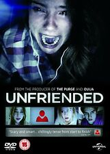 UNFRIENDED di Levan Gabriadze DVD FILM Horror in Inglese NEW PRENOTAZ.
