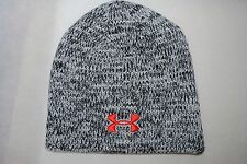 New Under Armour UA Winter knit beanie Man's Cap grey melange OSFM
