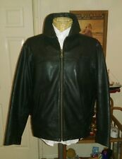 Original Ben Sherman `SKYFALL` REAL Leather Jacket size M Nice Patina Levi style