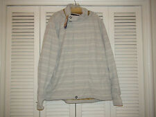 PrAna Pebble Stowaway Striped Jacket M2STOW114 Gray Water Resistant XL NWT $169