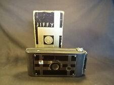 Old Vtg Jiffy Kodak Six-16 Folding Camera In Original Box Eastman Kodak Co