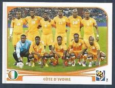PANINI-SOUTH AFRICA 2010 WORLD CUP- #524-IVORY COAST TEAM PHOTO