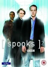 Spooks : Series 2 DVD, 2005 Box Set 5 DVD EPISODES 1 - 10 UNCUT PLUS EXTRAS A16