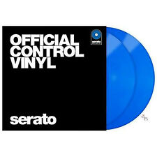Rane Serato DJ Scratch Live Time Code Performance Control Vinyl V 2.5 Pair Blue