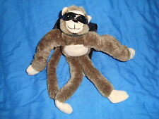 "Flying Screaming Monkey Slingshot Plush 2006 Playmaker Toys 10"" long"