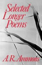 Selected Longer Poems by A. R. Ammons (1980, Paperback)