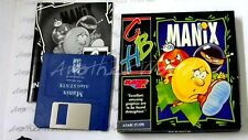 Manix - (gbh gold 1991) Atari ST game-rare-slim case-gc & complet