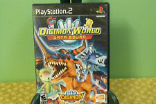 Digimon World: Data Squad - PlayStation 2 PS2 Black Label, Complete, Tested GOOD