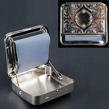 Automatic Tobacco Cigarette Smoking Rolling Machine Roller Box Case Holder Tin