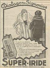 W6949 Super-Iride Arancio - Dialogo tra signorine - Pubblicità 1925 - Advertis.