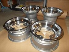 (4) Rims Wheels Front Rear Yamaha Warrior 350 Banshee YFZ450 450R Raptor 660 700
