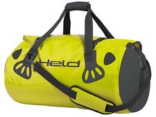 Held Carry Bag Pannier 60 L sw neon yellow Motorcycle Luggage roll Duffel