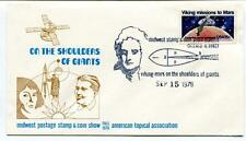 1978 Shoulder Giants Midwest Postage Stamp Coin Show American Tropical NASA USA