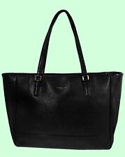 Authentic COACH 23576 CITY Genuine Black Saffiano Leather N/S Tote Bag Msrp $298