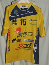 MAGLIA SHIRT MAILLOT TRIKOT VOLLEY MATCH WORN BCC NEP CASTELLANA GROTTE GALLOTTA