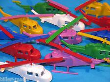12x PLASTIK Hubschrauber, Manurba, Heinerle, Domplast ..? aus den 60/70ern! NEU!
