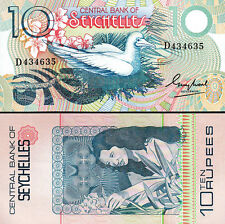 SEYCHELLES 10 RUPEES 1983 UNC P.28 CENTRAL BANK