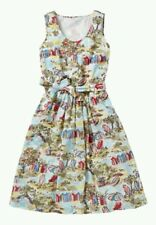 Cath Kidston Waterfront Beach Huts Fifties Vintage Dress (Size 12) Sold Out