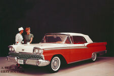 Ford Galaxie Sunliner Convertible - 1959 - photograph photo press campaign