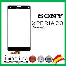PANTALLA TACTIL PARA SONY XPERIA Z3 COMPACT D5803 D5833 NEGRO DIGITALIZADOR