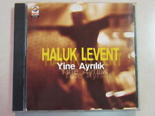 HALUK LEVENT YINE AYRILIK 1998 FOLK ROCK 11 TRK CD TURKISH ANATOLIAN ROCK SINGER