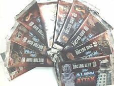 Topps Doctor Who Alien Attax Trading Card Game Booster Packs x 10 packs-Value