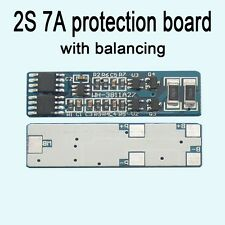 2S 7A li-ion BMS PCM lithium battery protection board bms pcm with balancing