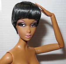 NUDE BARBIE ~ ARTICULATED RAVEN AA POP LIFE TNT PIVITOL MODEL MUSE DOLL FOR OOAK
