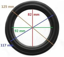 """High Quality 5"""" 5inch 125mm Speaker Surround Repair Rubber Edge Replacement"""