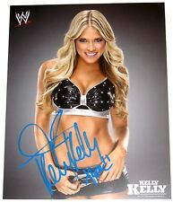 WWE KELLY KELLY SIGNED 8X10 PROMO PHOTO WITH PROOF 9